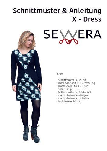 Produktfoto von sewera zum Nähen für Schnittmuster X-Dress