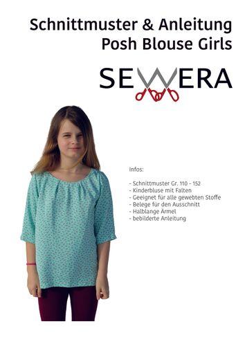 Produktfoto von sewera zum Nähen für Schnittmuster Posh Blouse Girls