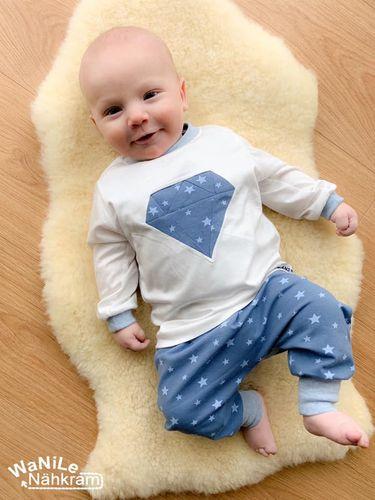 Produktfoto von Engelinchen zum Nähen für Schnittmuster Diamond Baby Shirt