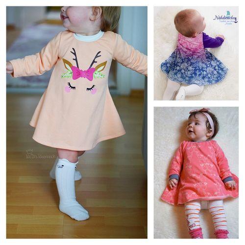 Produktfoto von Engelinchen zum Nähen für Schnittmuster Baby-Tunika Anita
