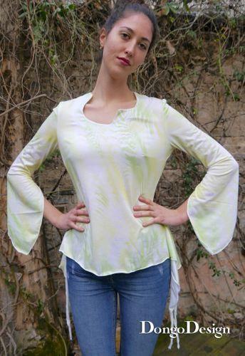 Produktfoto von DongoDesign zum Nähen für Schnittmuster Sanja easy Jerseyshirt