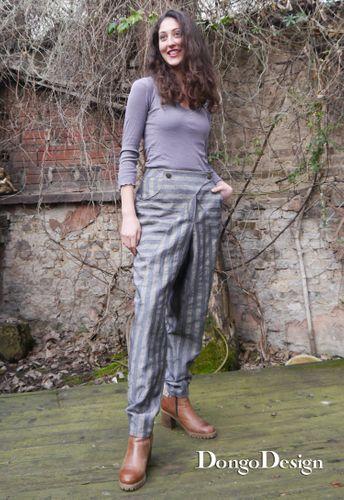 Produktfoto von DongoDesign zum Nähen für Schnittmuster Baggy-Pants Christa