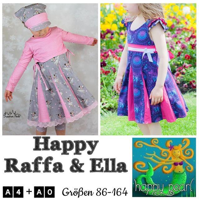 Produktfoto von Happy Pearl zum Nähen für Schnittmuster Happy Raffa & Ella