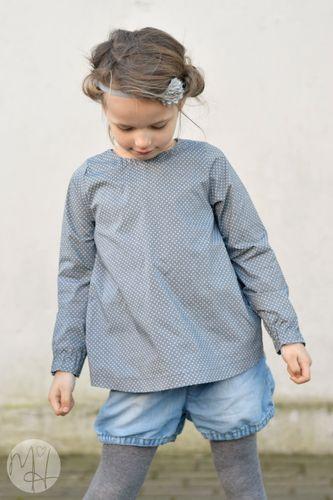 Produktfoto von Meine Herzenswelt zum Nähen für Schnittmuster Kleid/Bluse Kinder - Deine Ava