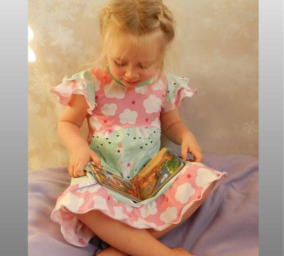 Produktfoto von gialLino zum Nähen für Schnittmuster Principessa de la notte