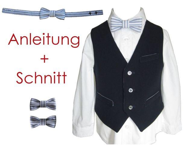 Produktfoto von Lunicum zum Nähen für Schnittmuster Weste und Fliege
