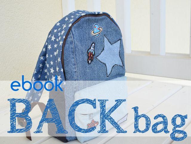Produktfoto von liebedinge zum Nähen für Schnittmuster back bag