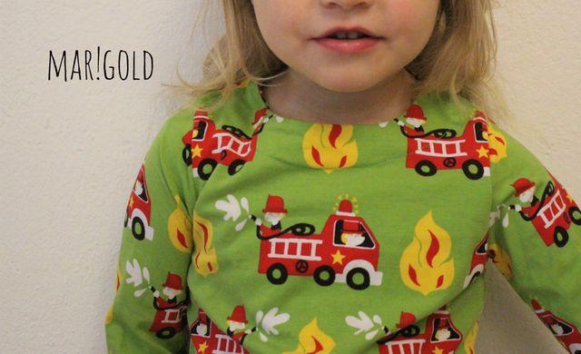 Produktfoto von mar!gold zum Nähen für Schnittmuster Basisshirt