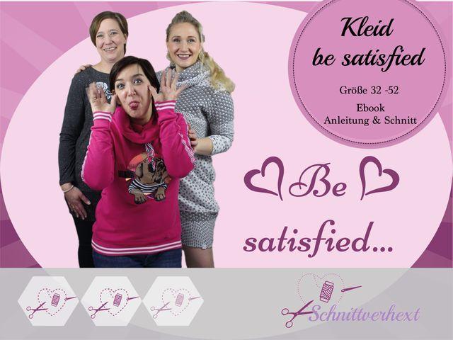 Produktfoto von Schnittverhext zum Nähen für Schnittmuster Be satisfied