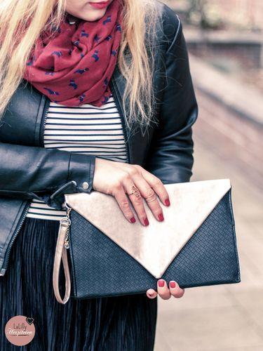 Produktfoto von LaLilly Herzileien zum Nähen für Schnittmuster Envelope Clutch & Purse Oribel