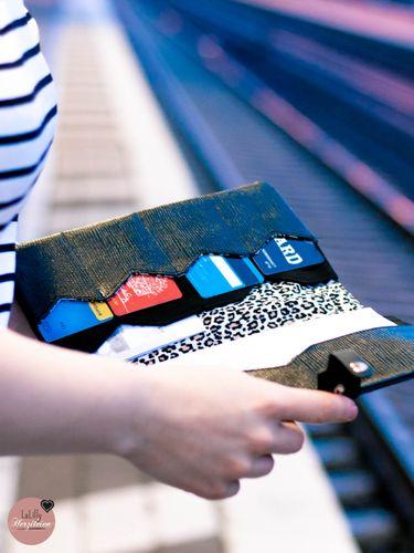 Produktfoto von LaLilly Herzileien zum Nähen für Schnittmuster Traveller Briefcase Camino