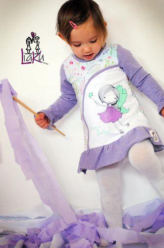 Produktfoto von Engelinchen zum Nähen für Schnittmuster Babytunika Tilda