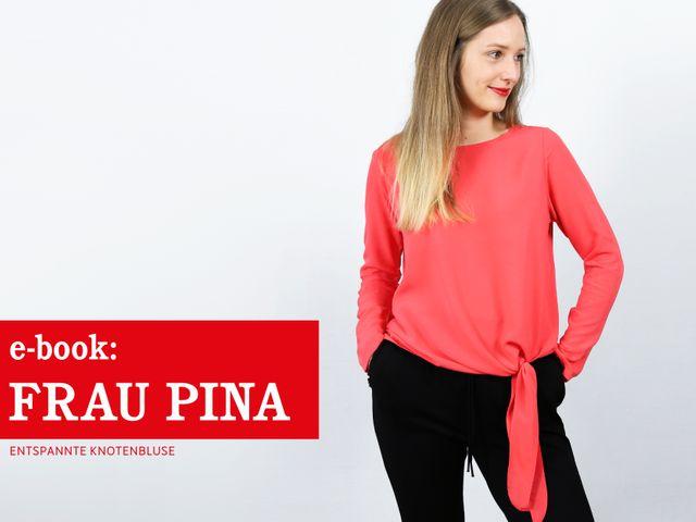 Produktfoto von STUDIO SCHNITTREIF zum Nähen für Schnittmuster Frau Pina