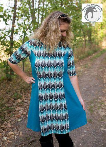 Produktfoto von Miou Miou zum Nähen für Schnittmuster Kleid Marlisa XL