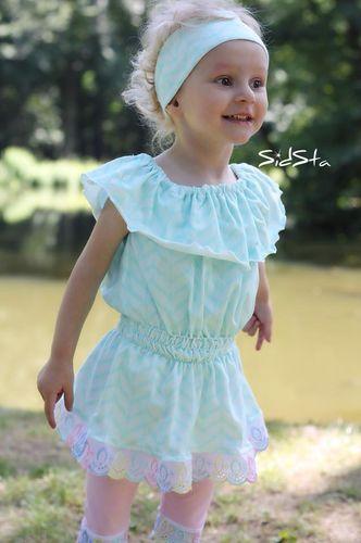 Produktfoto von Engelinchen zum Nähen für Schnittmuster Blusen-Tunika Mariella