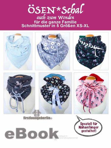 Produktfoto von Firstlounge Berlin zum Nähen für Schnittmuster ÖSEN*Schal