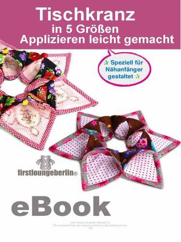 Produktfoto von Firstlounge Berlin zum Nähen für Schnittmuster Tischkranz in 5 Größen
