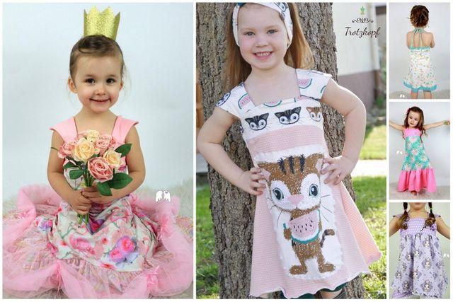 Produktfoto von Engelinchen zum Nähen für Schnittmuster Kleid/Tunika Principessa