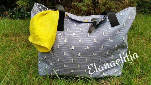Produktfoto von Engelinchen zum Nähen für Schnittmuster Strandtasche Kuba