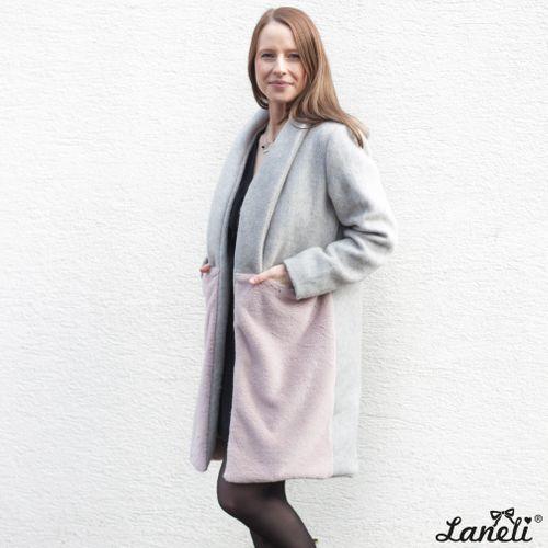 Produktfoto von Laneli zum Nähen für Schnittmuster Mantel #Celine