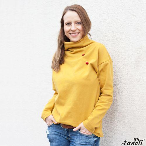 Produktfoto von Laneli zum Nähen für Schnittmuster Pullover #Fayette