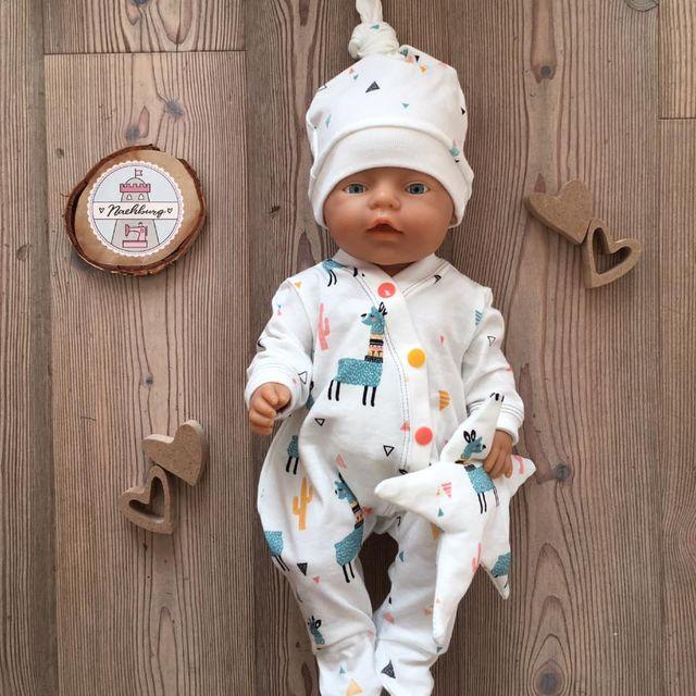 Produktfoto von Zwergnase-Design zum Nähen für Schnittmuster Dress up your Baby Doll Vol. 3