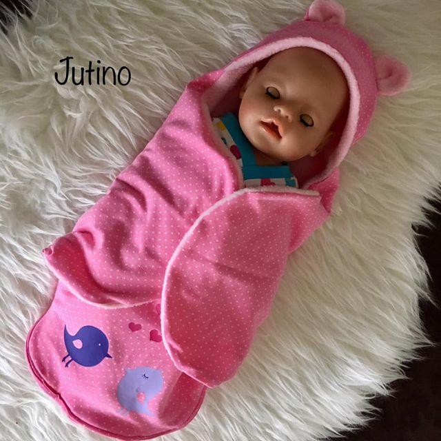 Produktfoto von Zwergnase-Design zum Nähen für Schnittmuster Dress up your Baby Doll Vol.4