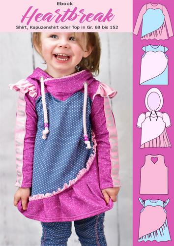 Produktfoto von Rosalieb & Wildblau zum Nähen für Schnittmuster Heartbreak