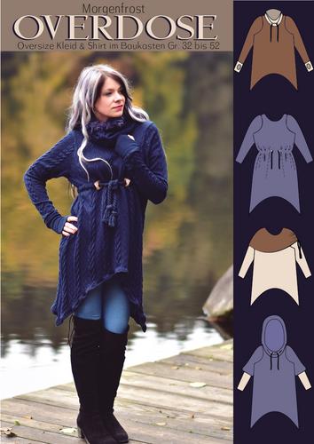 Produktfoto von Rosalieb & Wildblau zum Nähen für Schnittmuster Morgenfrost OVERDOSE