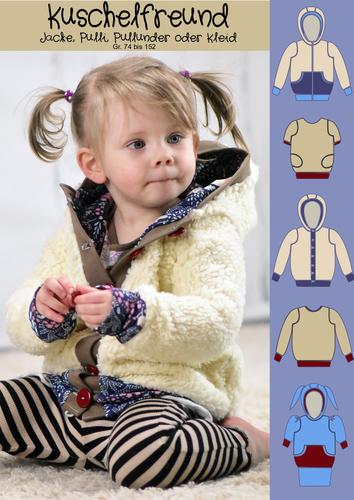 Produktfoto von Rosalieb & Wildblau zum Nähen für Schnittmuster Kuschelfreund