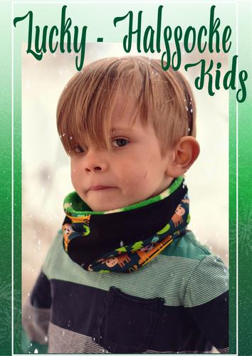 Produktfoto von Rosalieb & Wildblau zum Nähen für Schnittmuster Lucky Halssocke Kids