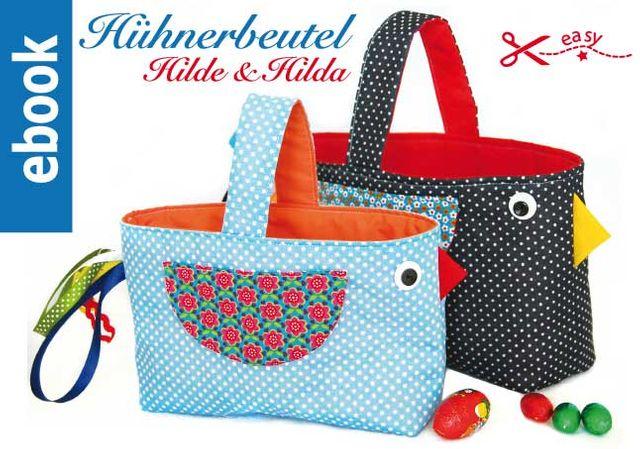 Produktfoto von Märzenbecher zum Nähen für Schnittmuster Ostertasche Hilde & Hilda