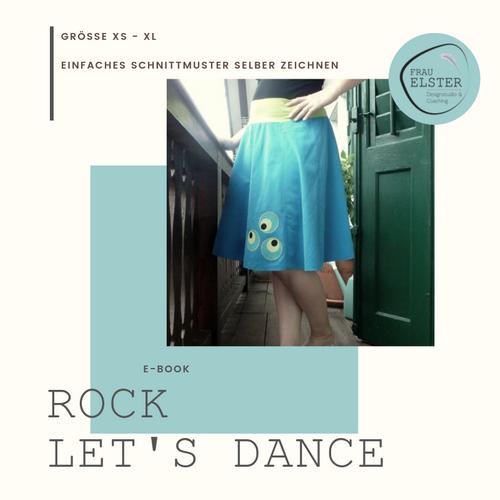 Produktfoto von Frau Elster Designstudio zum Nähen für Schnittmuster Rock Let's dance