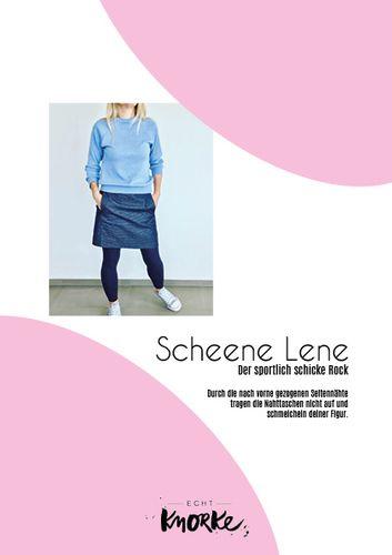Produktfoto von echt Knorke zum Nähen für Schnittmuster Scheene Lene