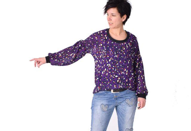 Produktfoto von Leni Pepunkt zum Nähen für Schnittmuster ORA.shirt