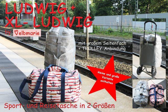 Produktfoto von elbmarie zum Nähen für Schnittmuster Kombiebook XL-Ludwig