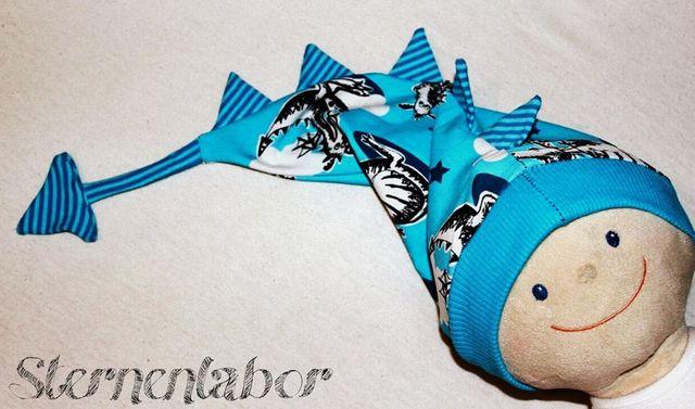 Produktfoto von Mamilu Design zum Nähen für Schnittmuster Puppenmütze Drachenbeanie Cris