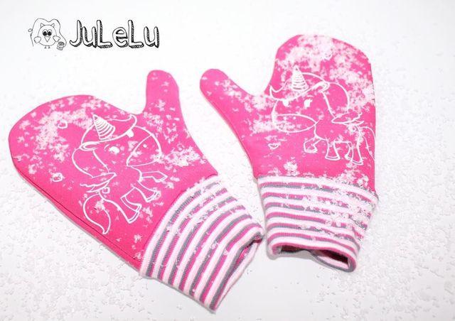 Produktfoto von Mamilu Design zum Nähen für Schnittmuster Handschuhe Snowdreams