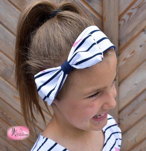 Produktfoto von Mamilu Design zum Nähen für Schnittmuster Schleifen-Knoten-Haarband