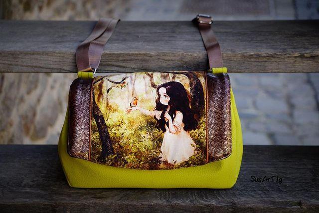 Produktfoto von AKkreativ zum Nähen für Schnittmuster Handtasche Ida