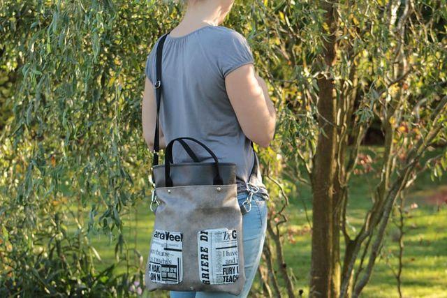 Produktfoto von AKkreativ zum Nähen für Schnittmuster Tasche Laura