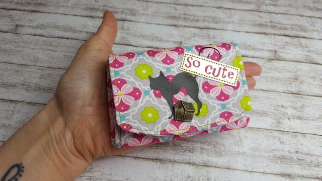 Produktfoto von AKkreativ zum Nähen für Schnittmuster Portemonnaie So Cute