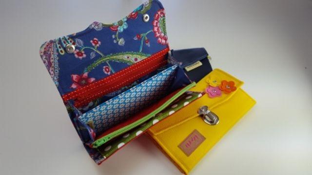Produktfoto von AKkreativ zum Nähen für Schnittmuster Portemonnaie Fräulein Hella