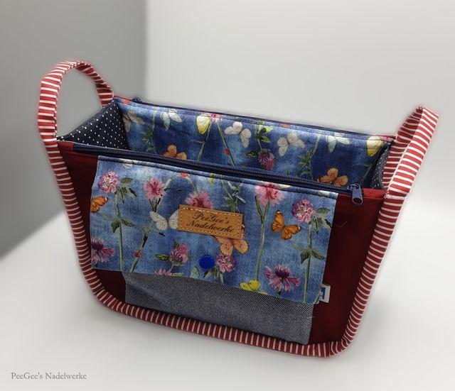 Produktfoto von AKkreativ zum Nähen für Schnittmuster Taschenorganizer Zara