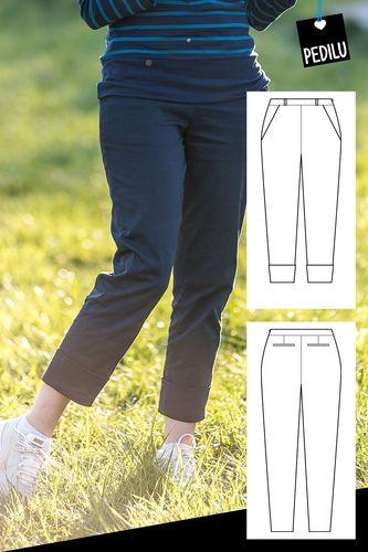 Produktfoto von pedilu zum Nähen für Schnittmuster LaMarina Pants