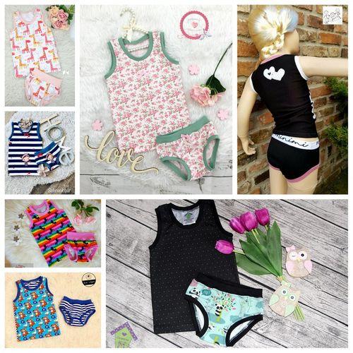 Produktfoto von Engelinchen zum Nähen für Schnittmuster Hemdchen und Büxchen