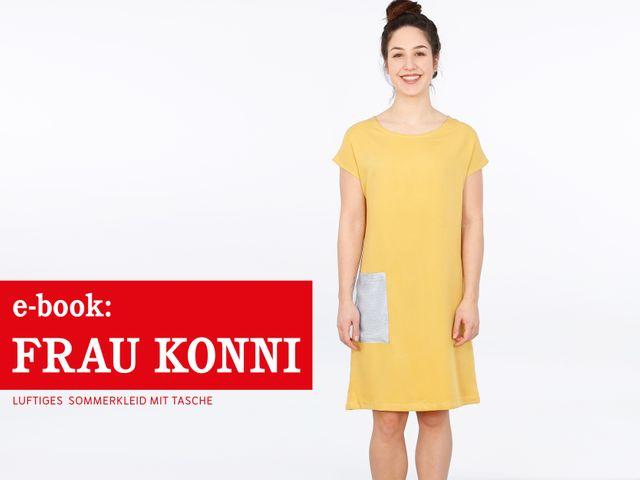 Produktfoto von STUDIO SCHNITTREIF zum Nähen für Schnittmuster Frau Konni