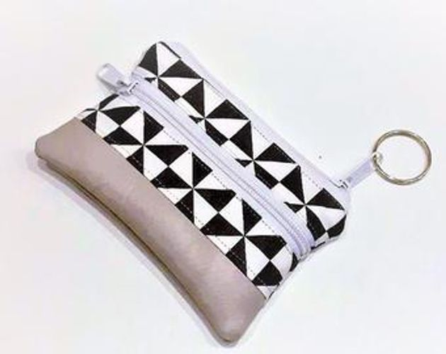 Produktfoto von Afrosteff zum Nähen für Schnittmuster Kleiner Geldbeutel/Schlüsseletui