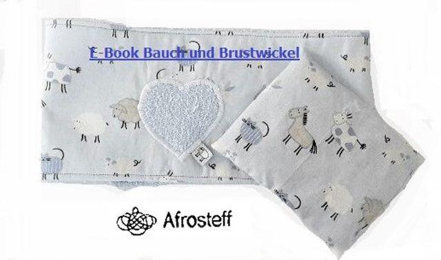 Produktfoto von Afrosteff zum Nähen für Schnittmuster Brust- und Bauchwickel mit Wärmekissen