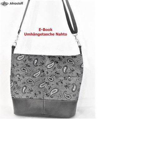 Produktfoto von Afrosteff zum Nähen für Schnittmuster Umhängetasche Nahto